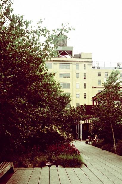 balade au vert sur la High Line