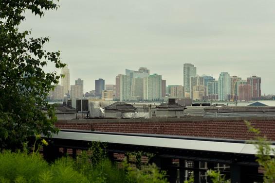 vue de Manhattan depuis la High Line