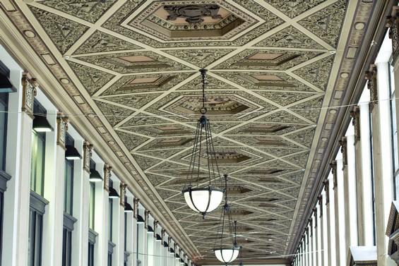 vue du plafond avec le RF