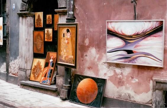 ruelles et peintures
