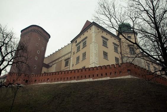 Château royal colline du Wawel