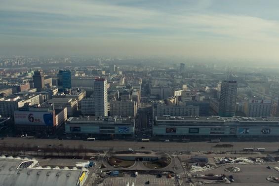 vue sur la ville de Varsovie