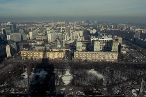 vue sur Varsovie