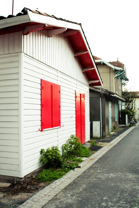 Le Cap Ferret, maison du bord de mer