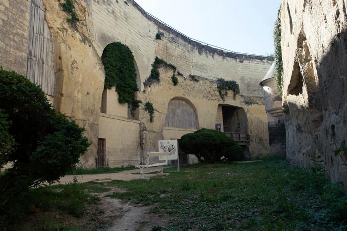 chateau de Brézé, les douves