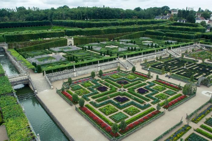 Villandry coté jardins