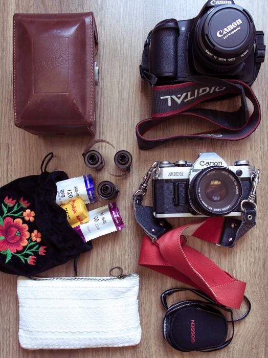 appareils photos et pellicules
