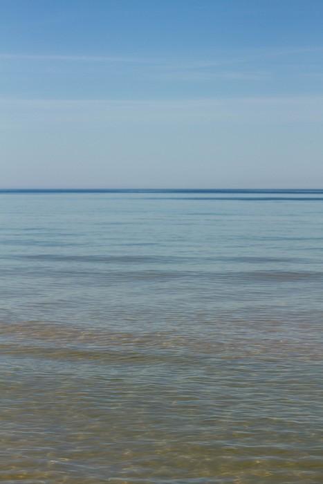 vue de la mer Baltique