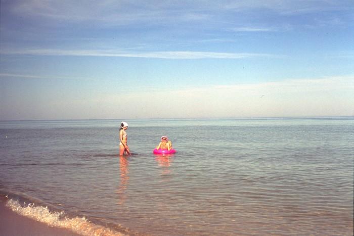Baignade à la mer Baltique