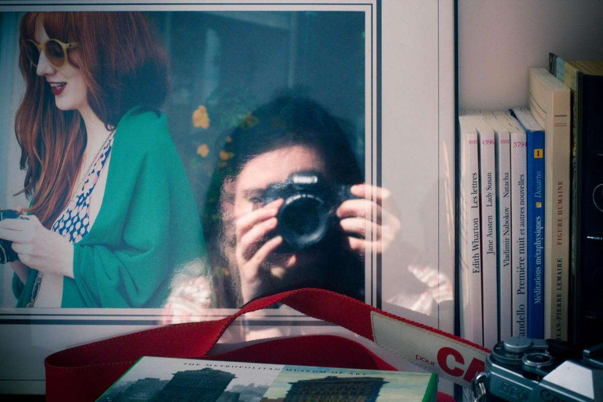Reflective portraits #1 : De l' autre côté du miroir…