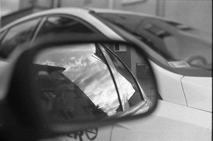 reflect car
