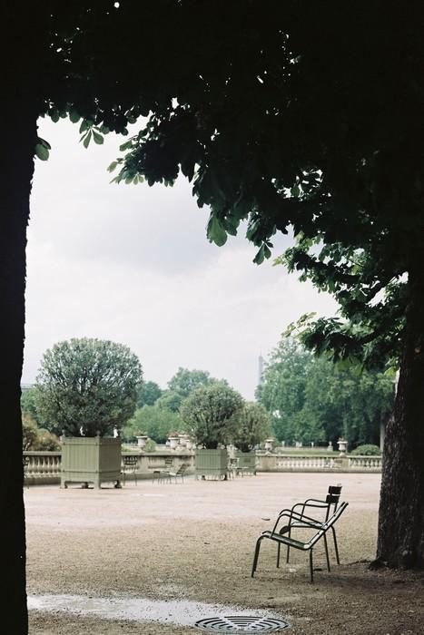 Paris jardin du luxembourg