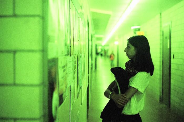 couloirs de la fac