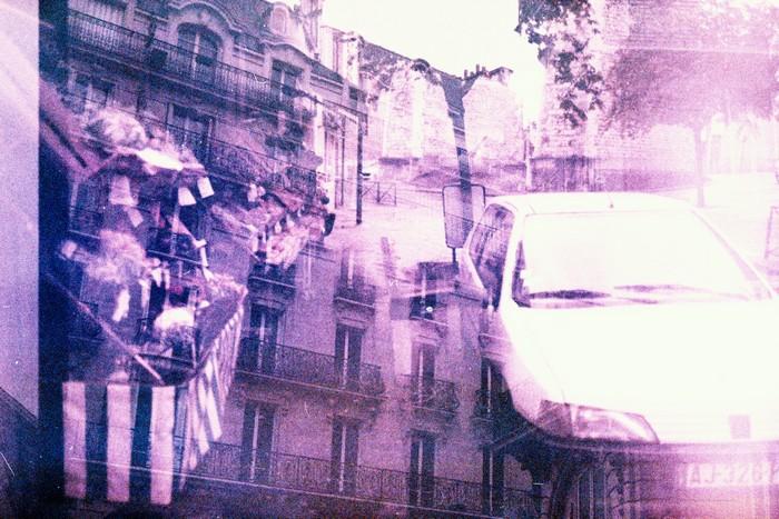 Double exposition en photographie argentique