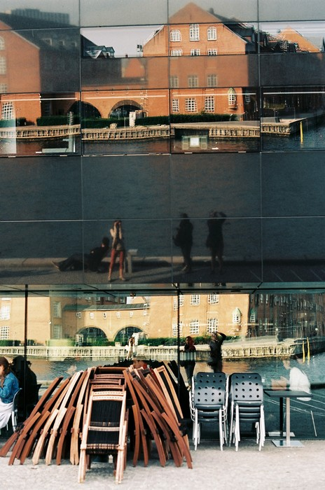 Reflective portraits in Copenhagen