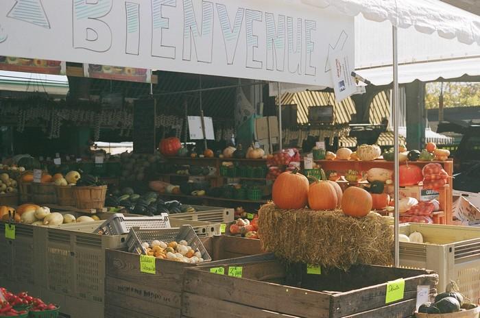 Montreal, marché Jean Talon