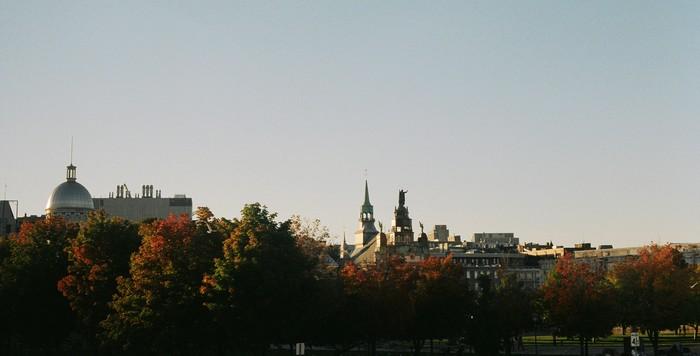 Montréal landscape