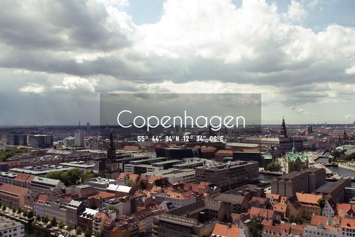 vue de Copenhagen