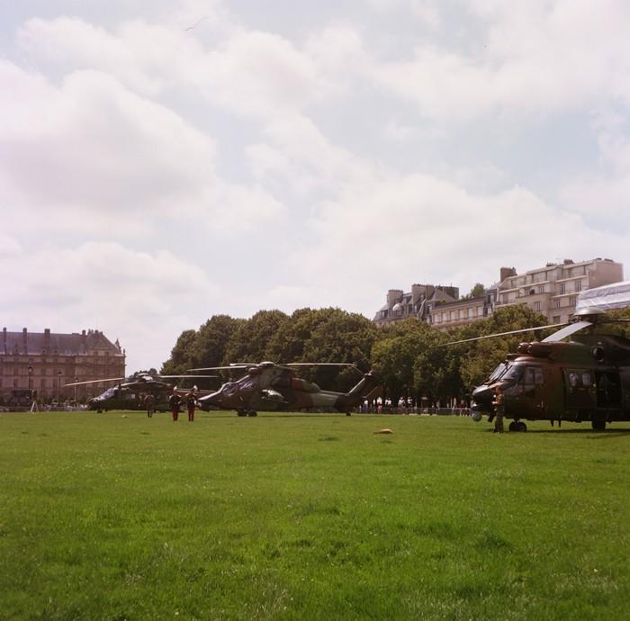 14 juillet à Paris, esplanade des Invalides