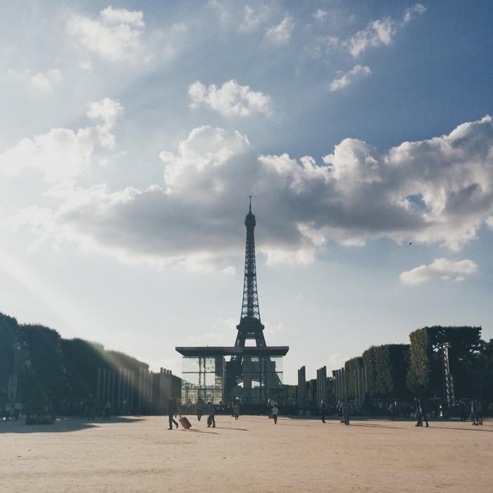 Champ-de-Mars, Tour Eiffel