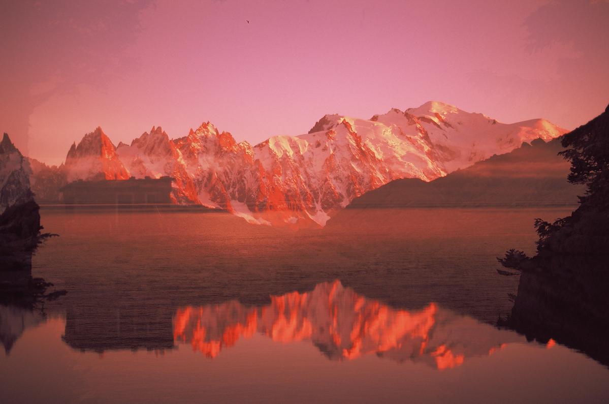 La photographie argentique, double expo