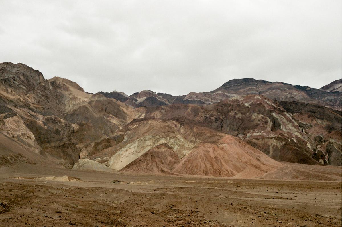 artist's drive, Death Valley