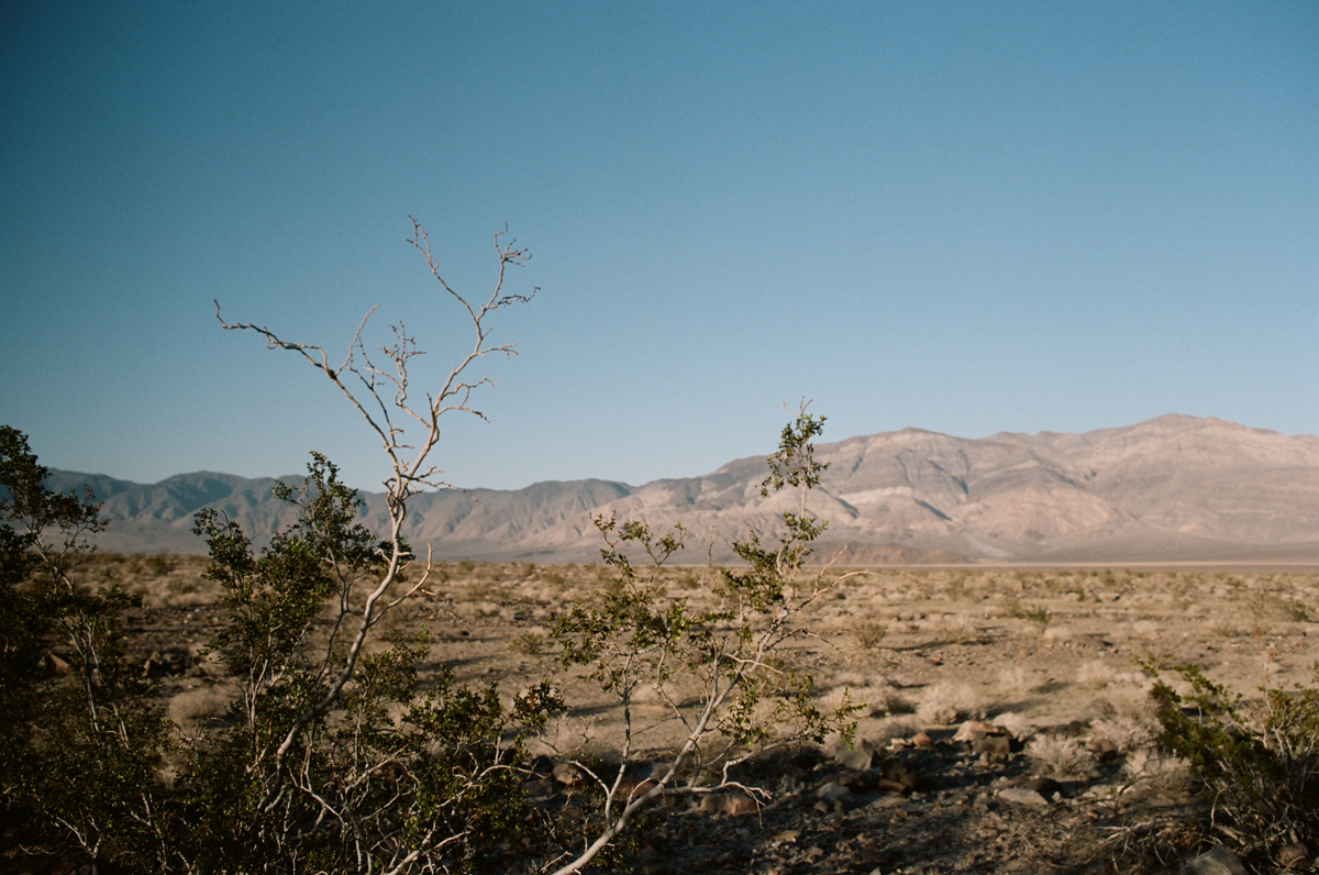 Death Valley, On the road, california
