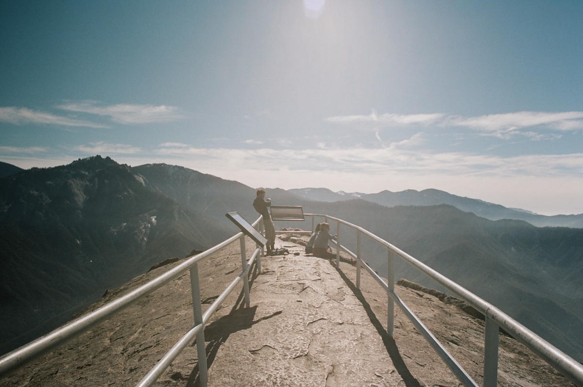 Moro Rock, Sequoia