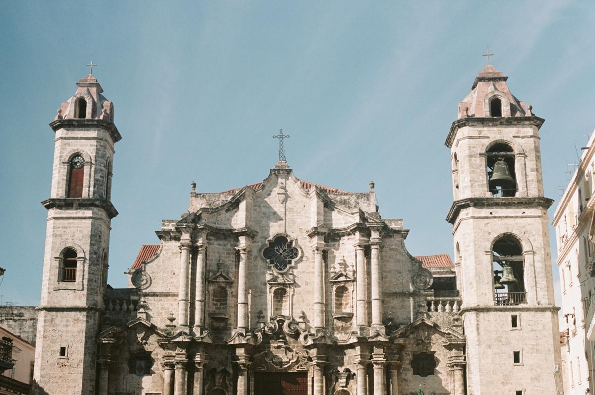 Plaza de la cathedral, La Havane touristique