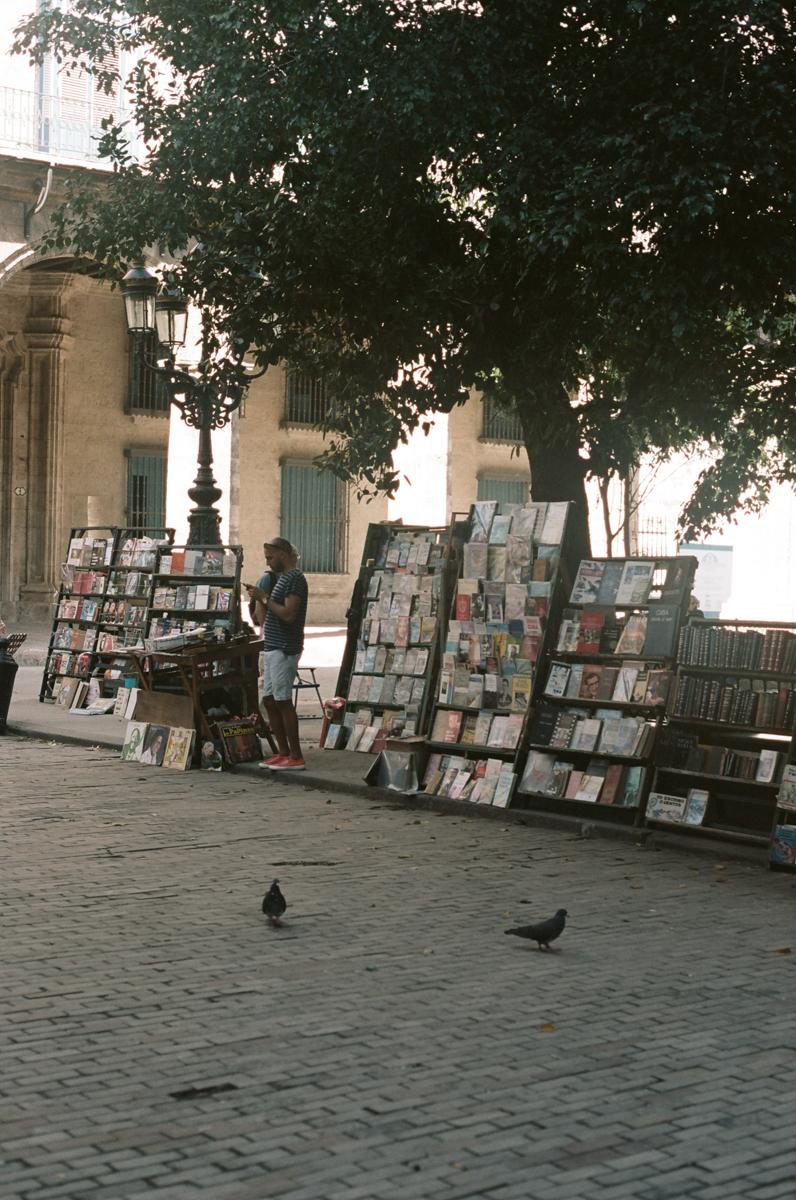 Plaza de Armas, La Havane touristique, Cuba