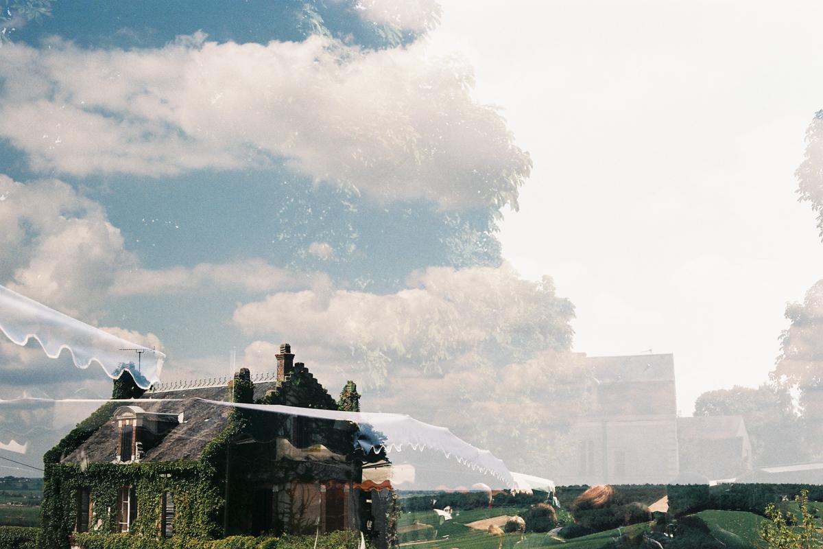 Sur les routes de France, Double expo photographie argentique