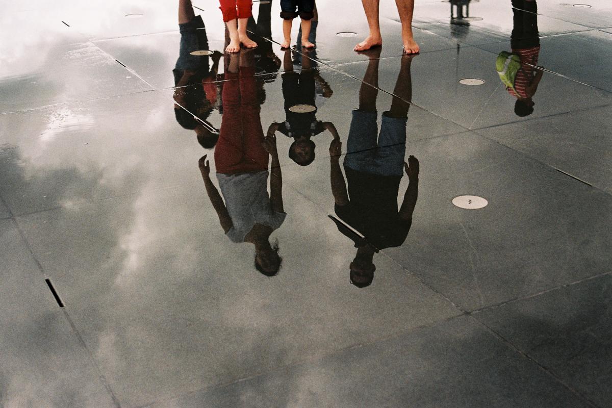 Sur les routes de France, Bordeaux, Miroir d'eau