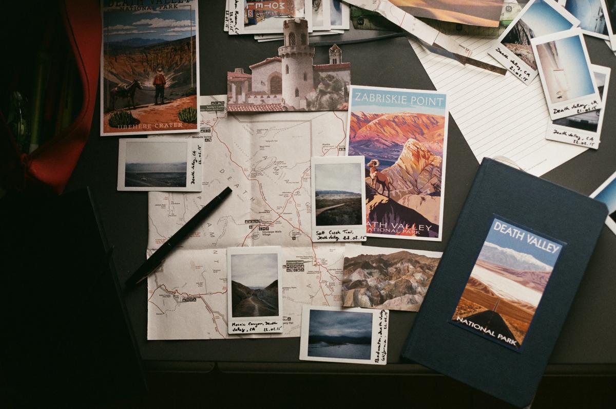 Carnet de voyage californien