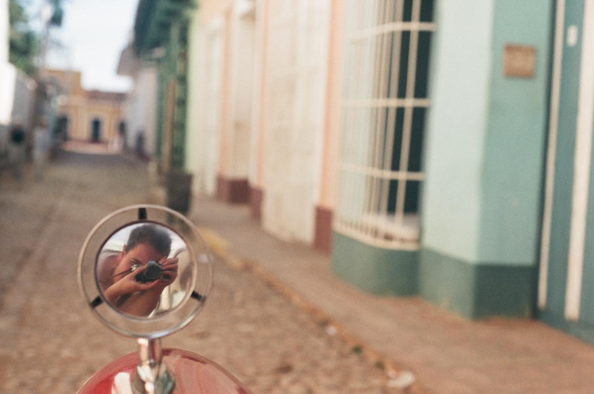 Reflective portraits, cuba