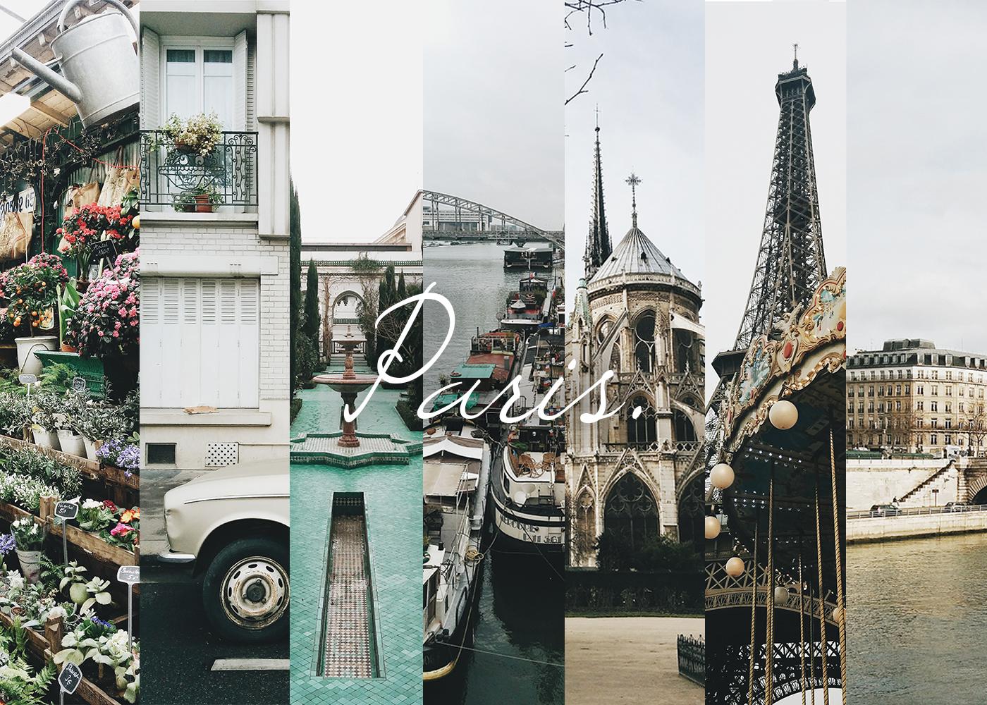 Paris animée, bousculée.