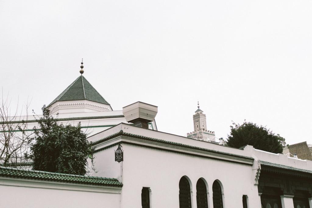 Balade parisienne , Grande Mosquée de Paris