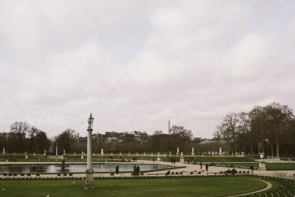 Balade parisienne , Jardin du Luxembourg