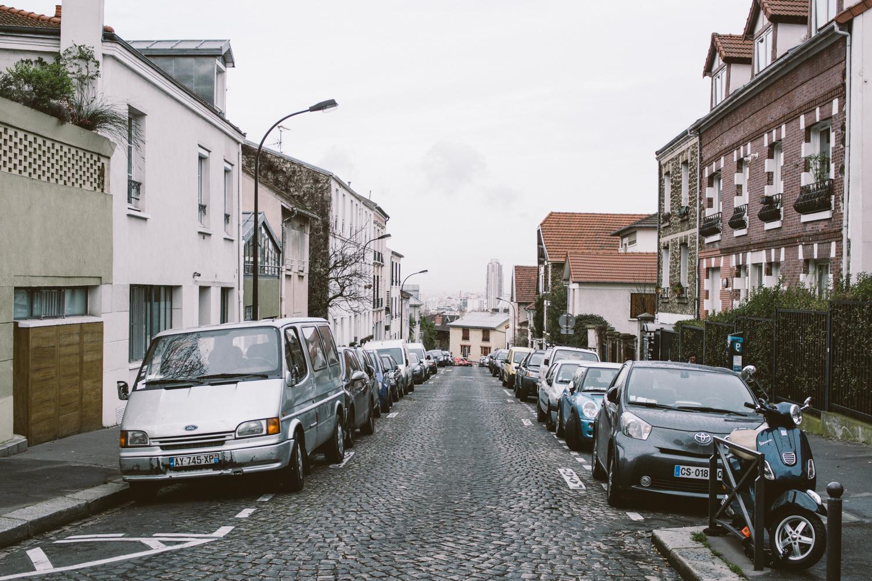 Paris, rue Mouzaïa