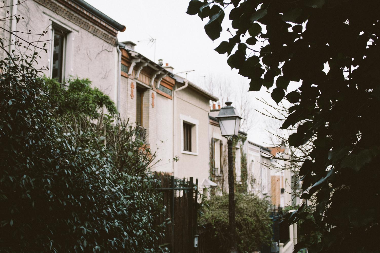 Rue Mouzaïa, la campagne au coeur de la ville !