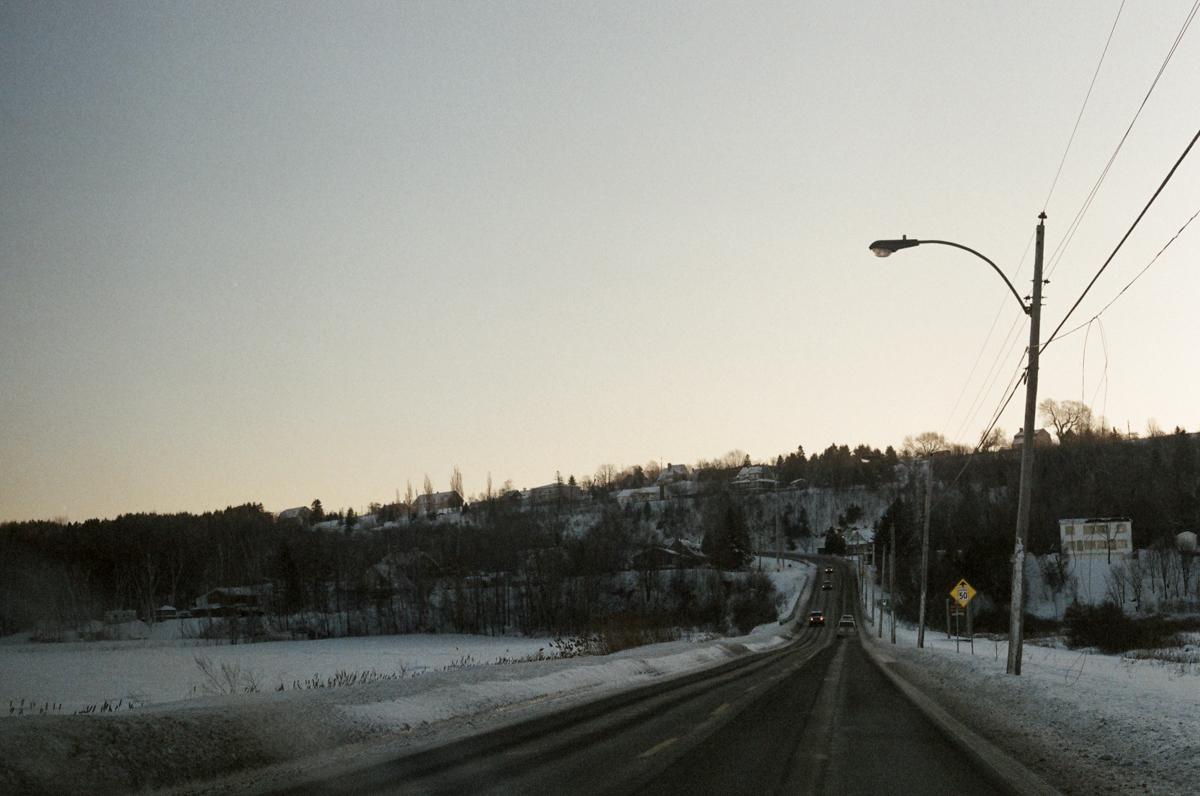 Escapade en chien de traineau, Québec