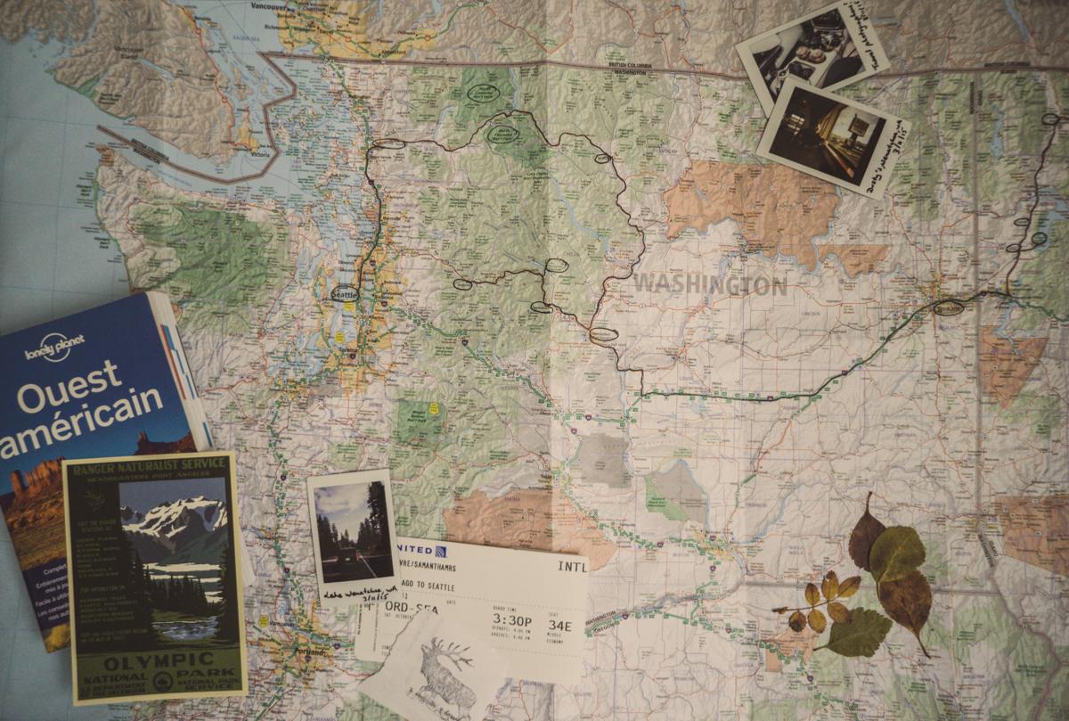 Itinéraire de road trip dans le Washington