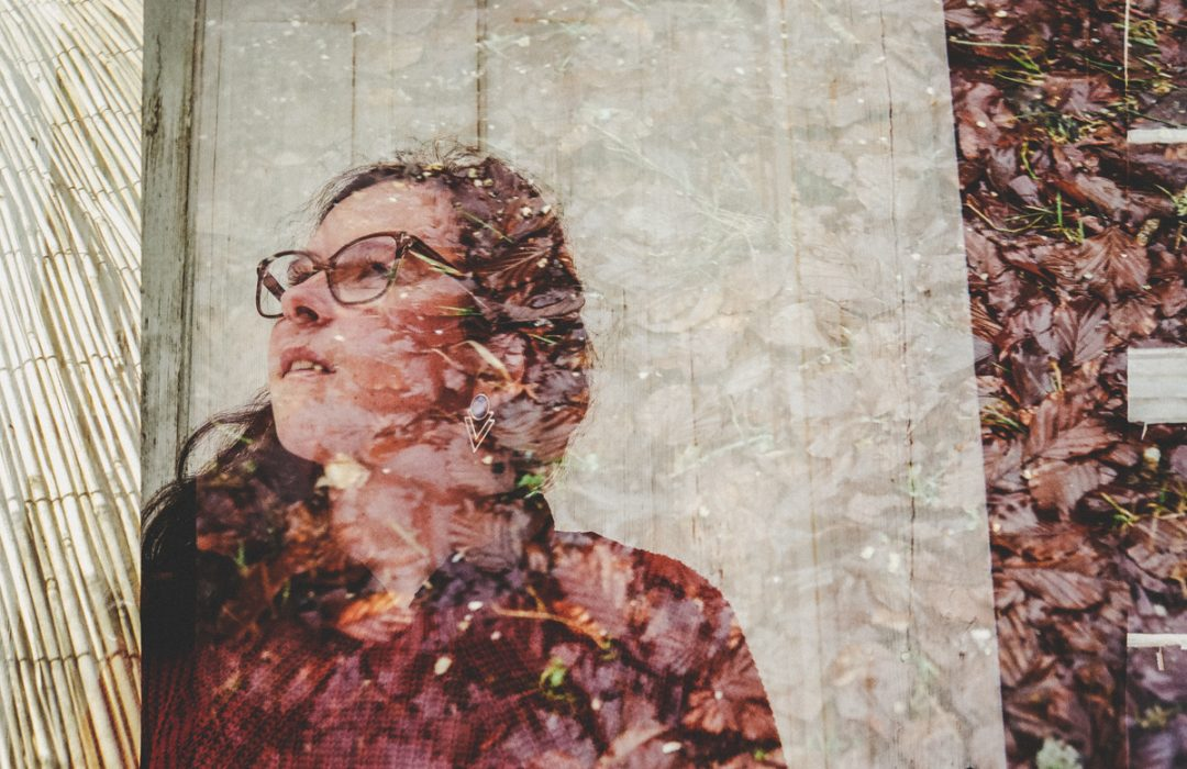Double exposition argentique : textures match !