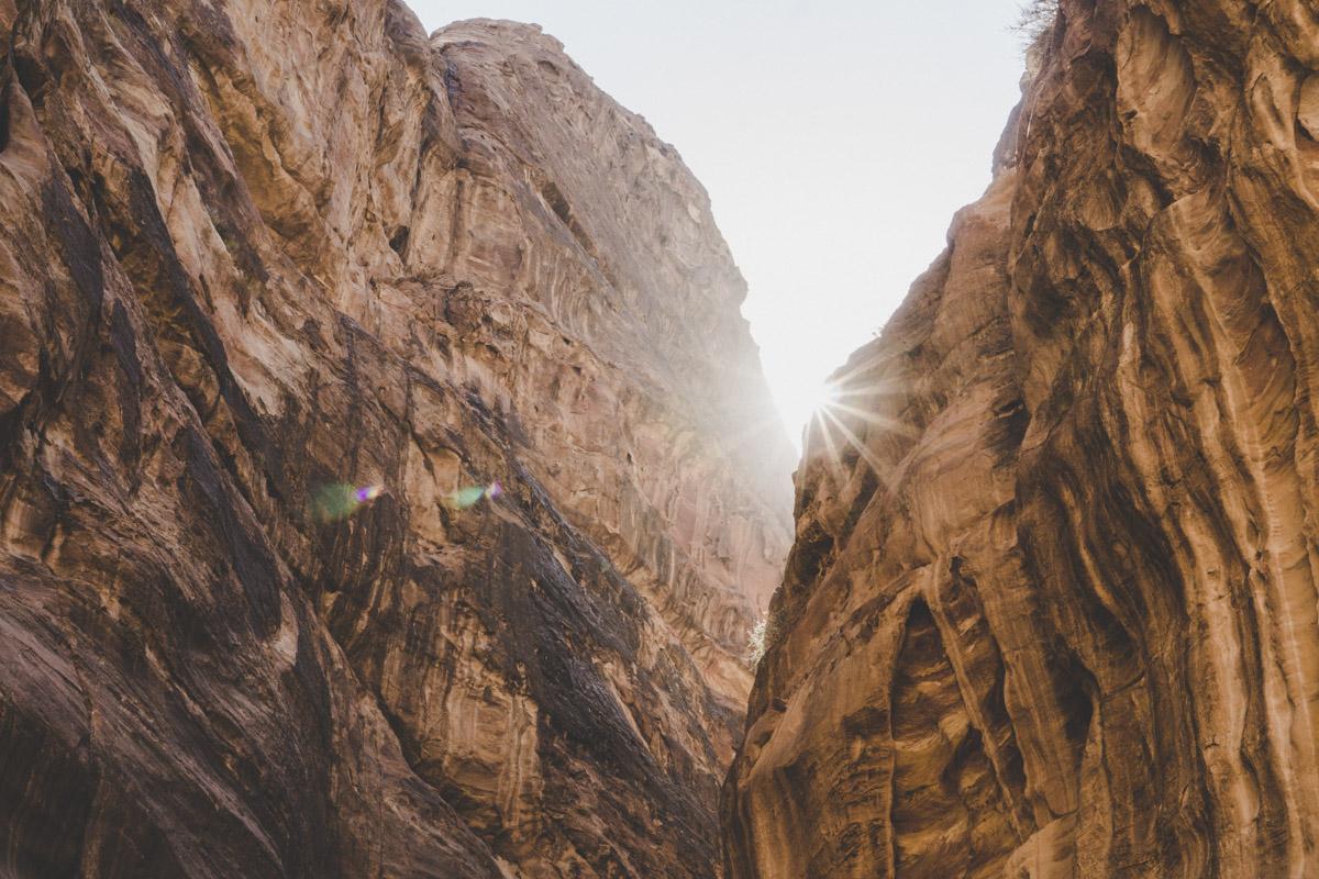 Petra la cité rose, le Sîq