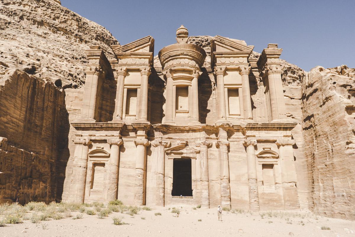 """Petra la cité rose, Monastère """"Ad Deir"""""""