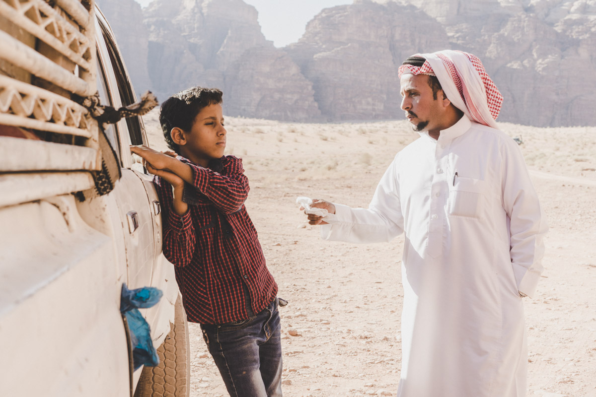 Explorer le désert du Wadi Rum, Anfashieh