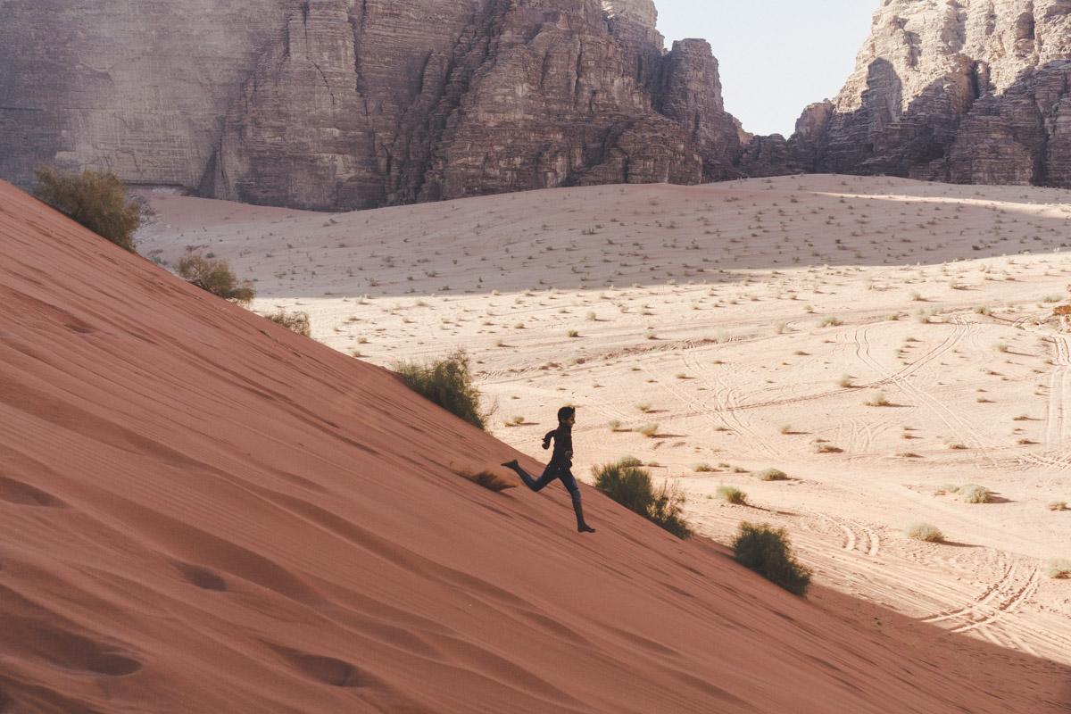 Explorer le désert du Wadi Rum, Sand Dune area