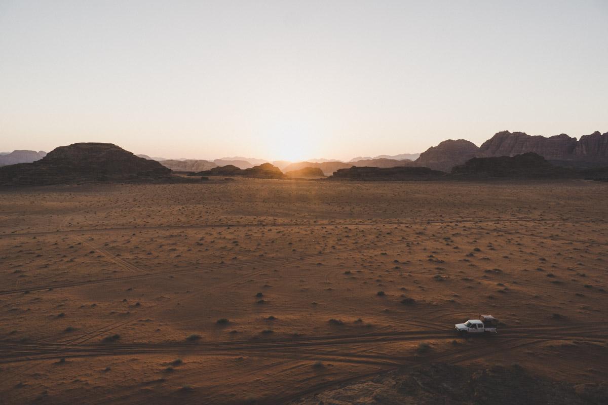 Explorer le désert du Wadi Rum