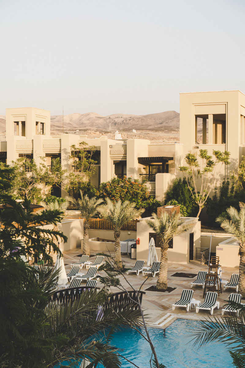 la mer Morte, Holiday Inn Resort Dead Sea
