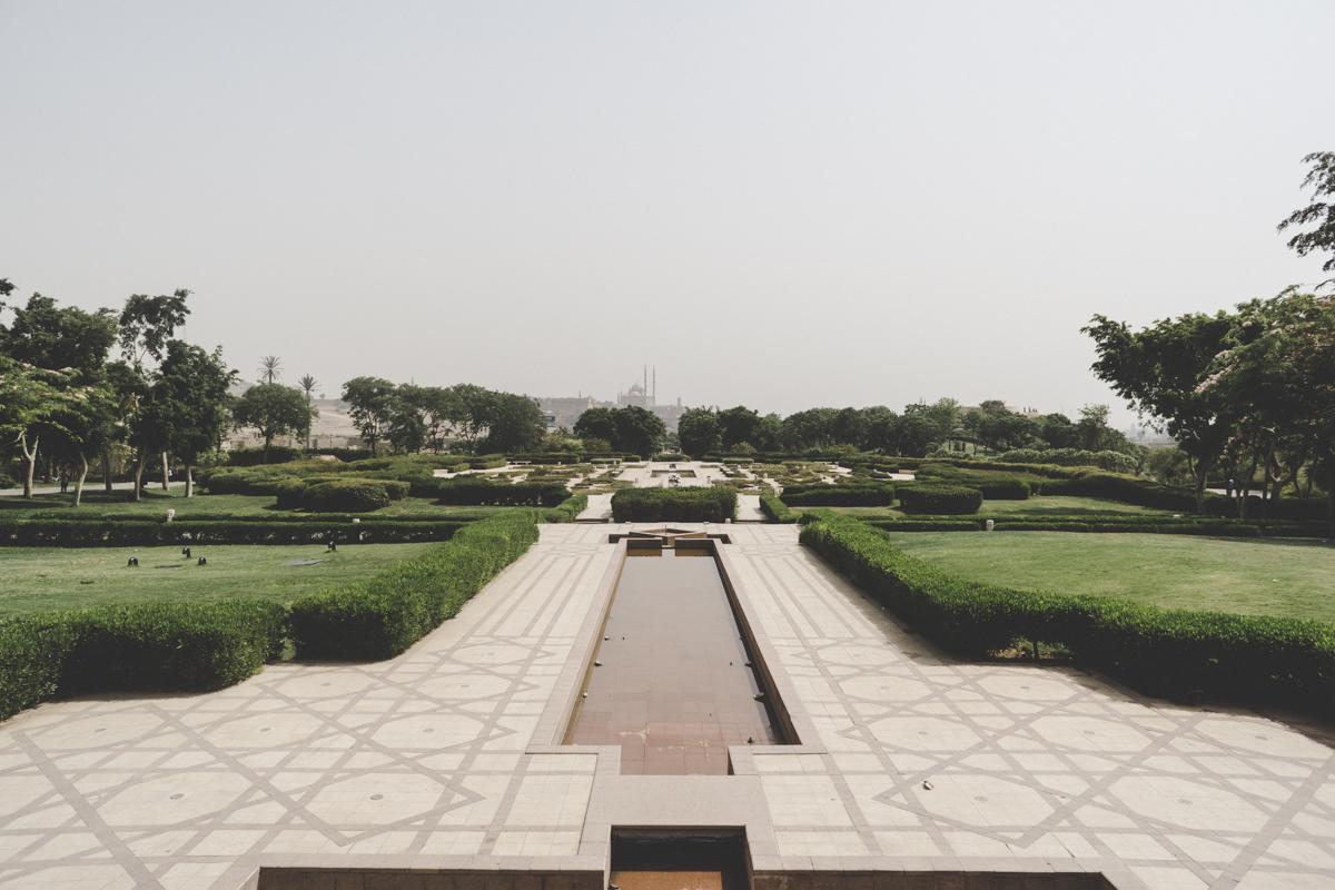Le Caire, Parc Al-Ahzar