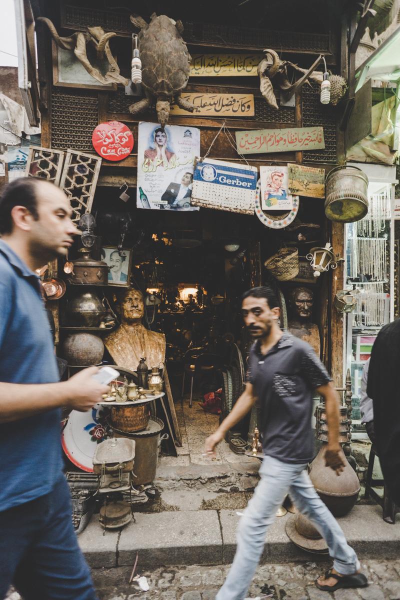 Le Caire, Souk Khan-El-Khalili